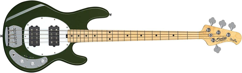Bajo para principiante Sterling SUB Ray4 Bass HH MN, oliva