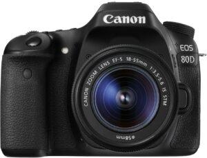 Canon EOS 80D - Cámara conciertos en vivo